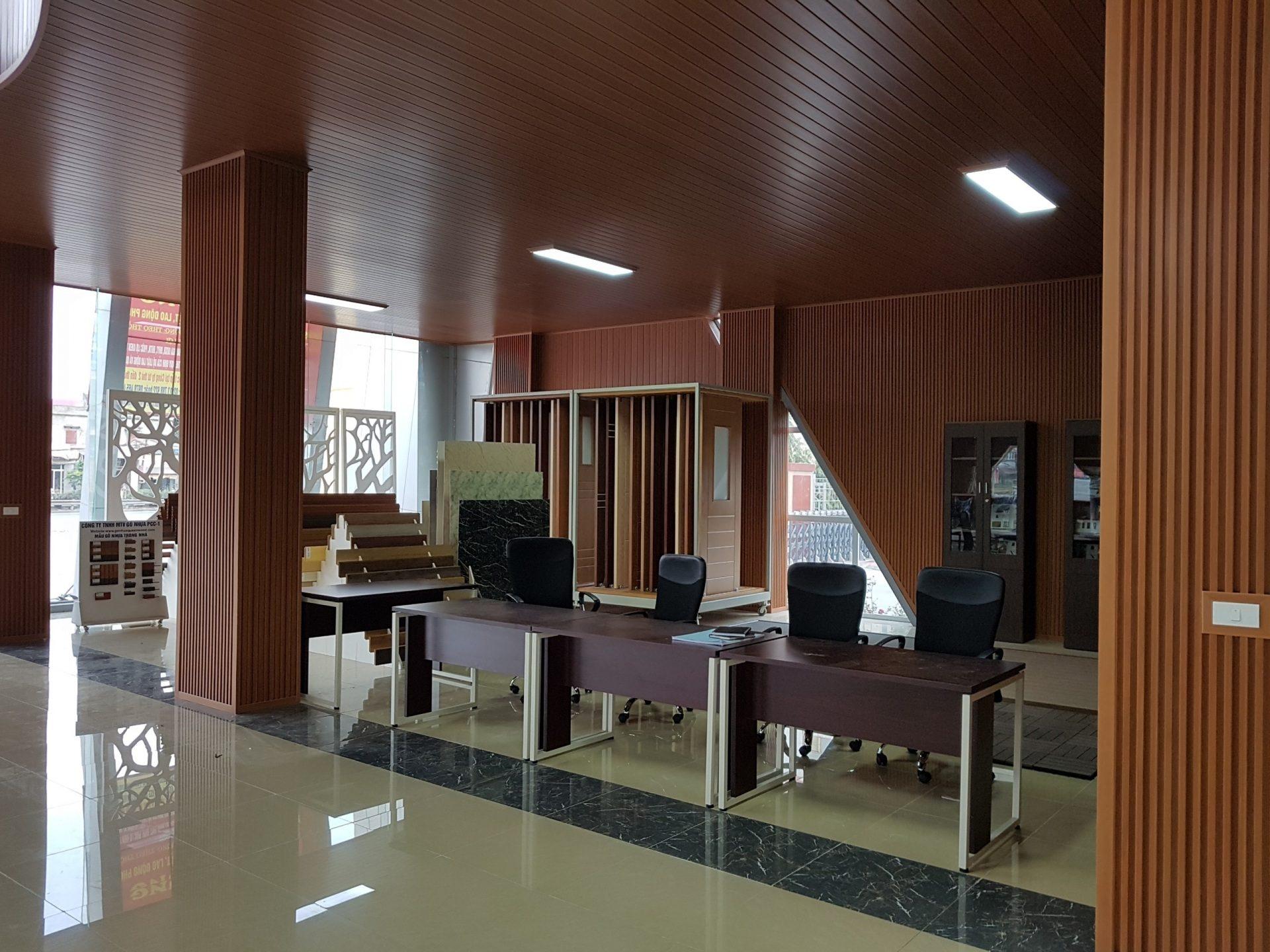 showroom khu vuc lam viec